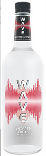 Wave Vodka Whipped Cream 750ml - Case of 12
